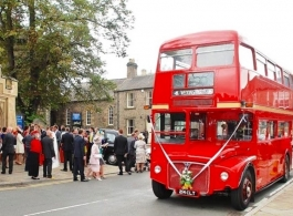 Classic London Bus for weddings in Rochester